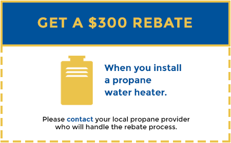 equipment rebates for new propane appliances - use propane arizona