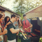 BBQ with friends