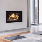 Propane fireplace